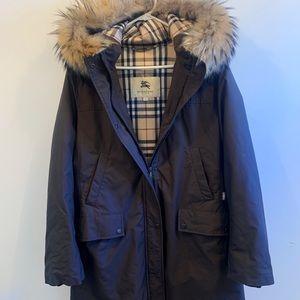 Burberry Women's Jacket Lg- Brown